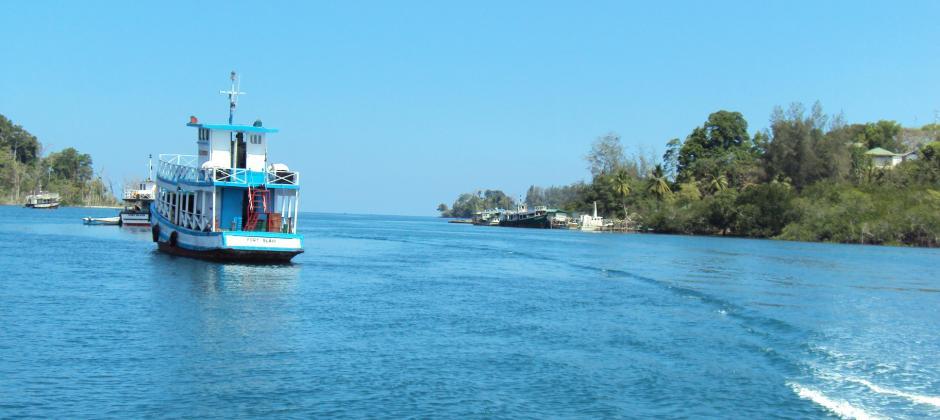 Excursion North Bay (Coral Island) & Ross Island