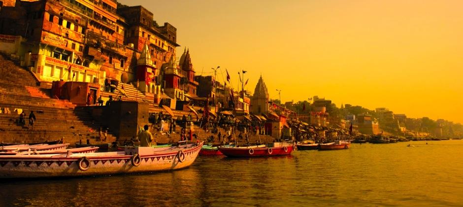 Arrive Varanasi