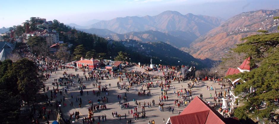 Delhi - Shimla (320 Kms / 9 hrs)