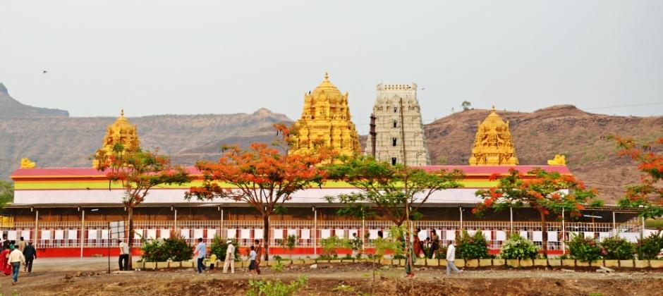Arrive Pune:  Visit Prati Balaji – Kolhapur