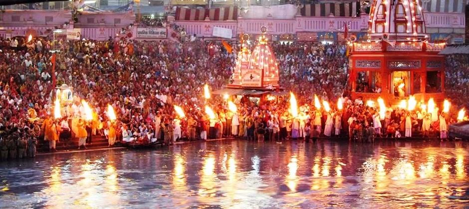 Delhi – Haridwar:  Har- ki- Pauri (220 Kms.6 Hrs)