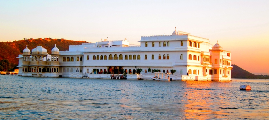 Udaipur at Lake Palace