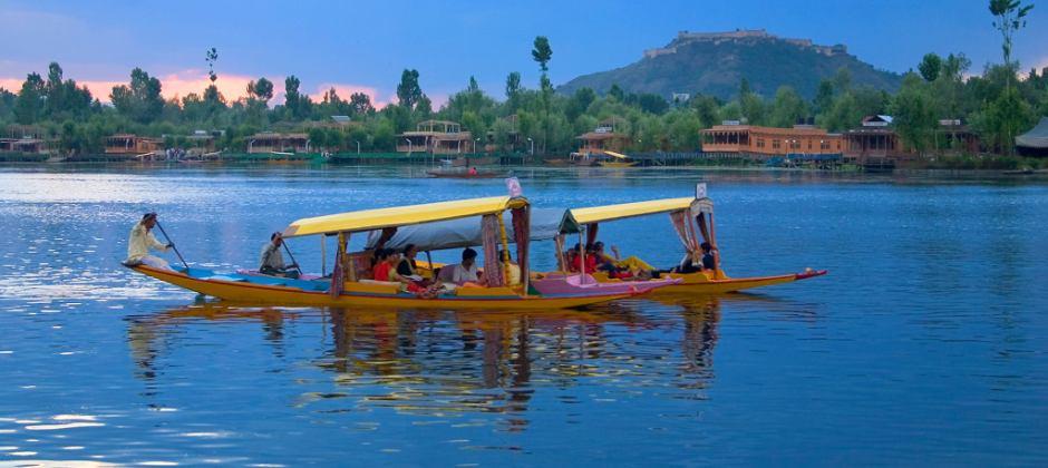 Arrival Srinagar