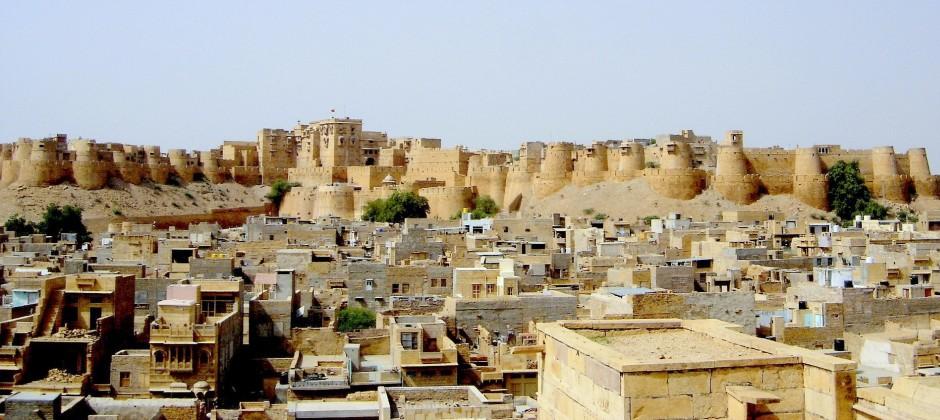 In Jaisalmer – Khimsar (300 Kms)